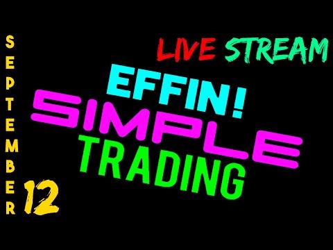 9/12/16 LIVE Stream Highlight – eMini NASDAQ (NQ) – Futures Day Trading // EffinSimpleTrading