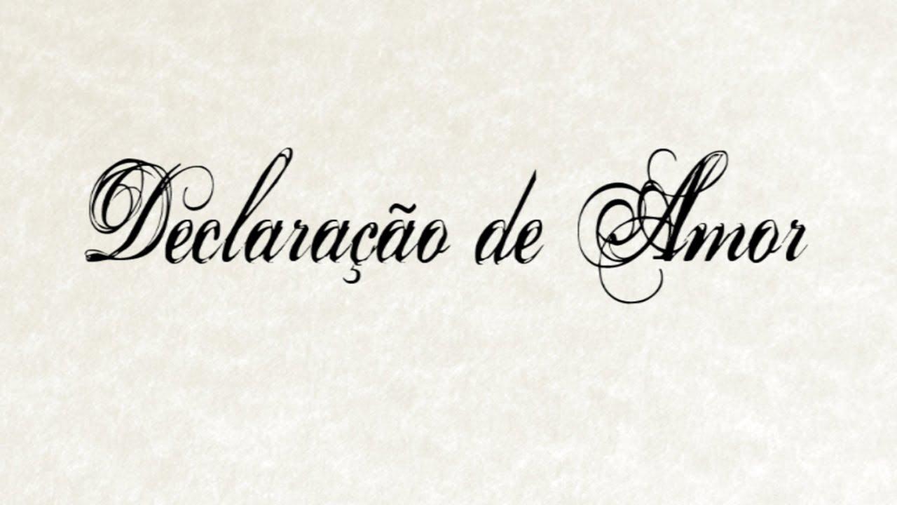 Declaração De Amor: Suellen Lima ( Letra Legendada)