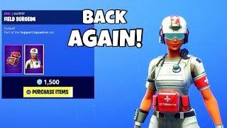 MEDIC SKINS ARE BACK..! (New Item Shop) Fortnite Battle Royale