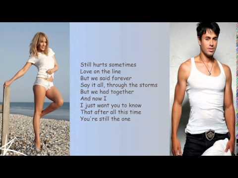 Enrique Iglesias   Beautiful feat.  Kylie Minogue Lyrics HD 2014
