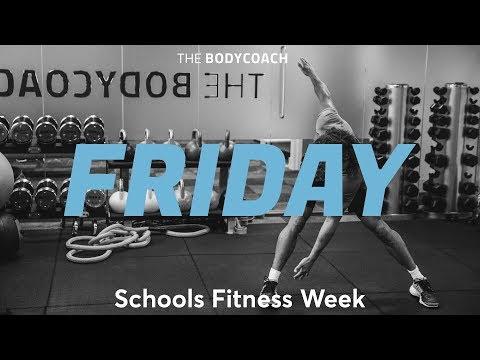 Schools Fitness Week | Fri 16th March | The Body Coach