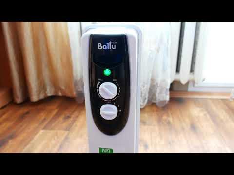 Масляный радиатор Ballu BOH CL 05WRN Реальный отзыв