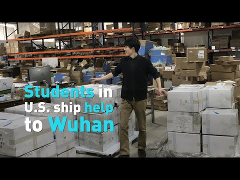 Harvard students are shipping medical supplies to Wuhan, China