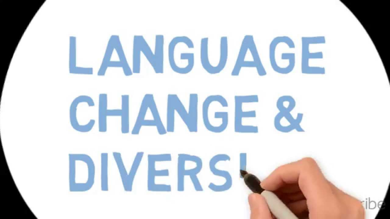 English Language Change And Diversity