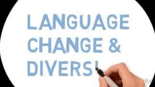 English language - Change and Diversity