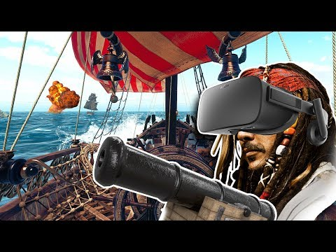 SORPRENDENTE JUEGO DE PIRATAS En Realidad Virtual ► Furious Seas VR