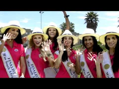 Miss South Africa finalists say hello to ME!