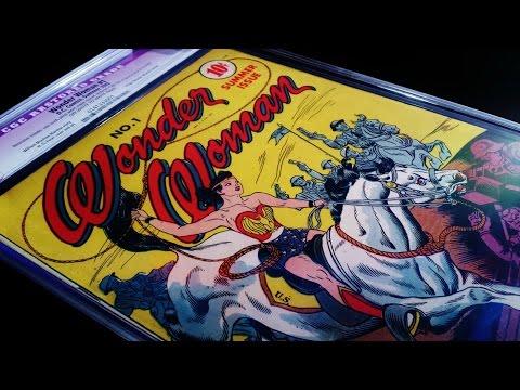 Wonder Woman #1 CGC High Grade! RARE! MUST WATCH!