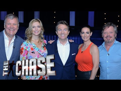 The Celebrity Chase ft Rachel Riley, Kirsty Gallacher, Charley Boorman & Clive Tyldsley | BTS
