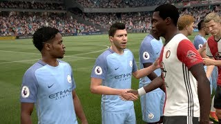 Feyenoord vs Manchester City Champions League 13/09/2017 Gameplay