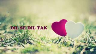 Dil Se Dil Tak -Sad Shayari
