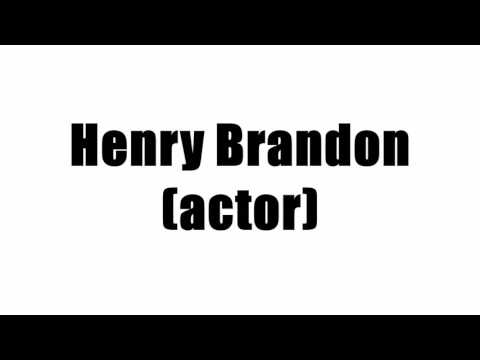 Henry Brandon (actor)