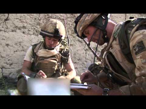 Grenadier Guards in Helmand 2007 by Vaughan Smith