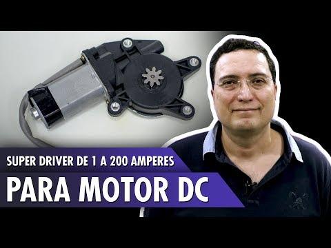 Super driver de 1 a 200 amperes para motor DC
