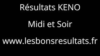 Résultats KENO, Gagnants KENO, Tirages KENO, KENO gagnant à vie, Astuces KENO,  Gains KENO