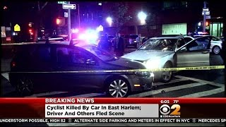 Bicyclist Killed In East Harlem Hit-And-Run Crash