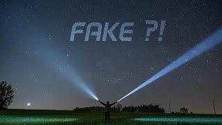 Vorsicht Fake Werbung !!! [Flash X5 Taschenlampe]