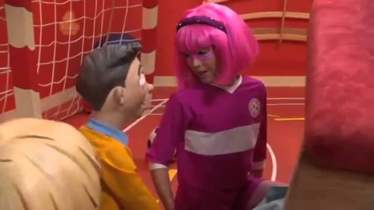 Stephanie panty lazy town phrase Absolutely