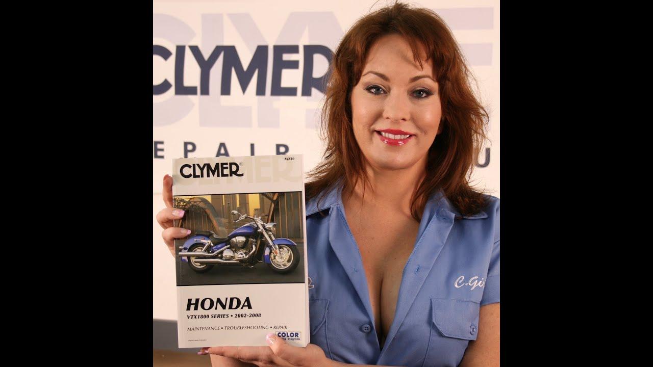 Clymer Manual Video Sneak Peek for the 2003 2008 Honda