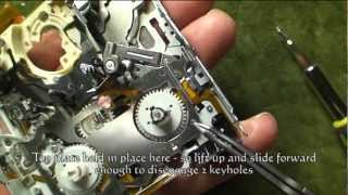 Repeat youtube video SONY HDR-HC1 / HVR-A1 MODE SWITCH REPAIR
