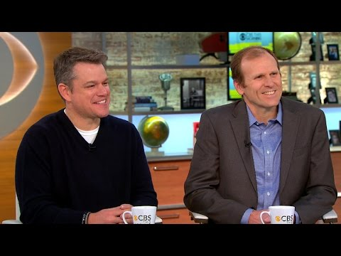 Matt Damon and Gary White on worldwide initiative for clean water