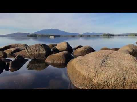 Millinocket Lake Log Sided Home