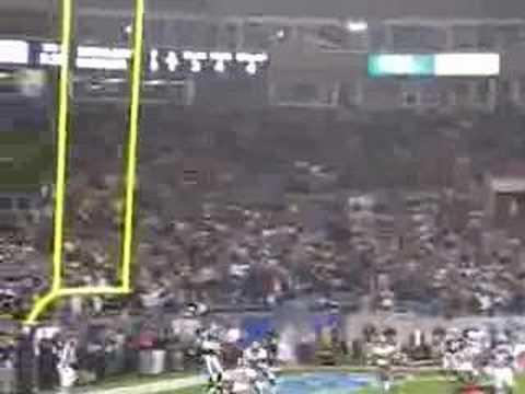 Keyshawn Johnson touchdown Monday Night football Panthers