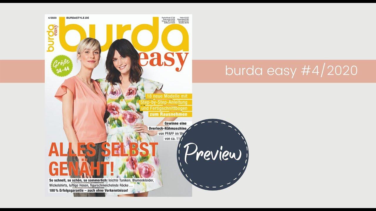 Preview: Einblick in die burda easy #4