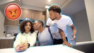 "MY ""BEST FRIEND"" KISSES MY SISTER IN FRONT OF ME PRANK!! (GOES TERRIBLY WRONG)"
