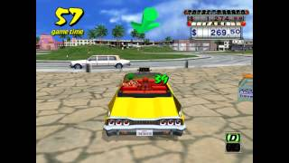 Crazy Taxi - Gameplay PC (Arcade)