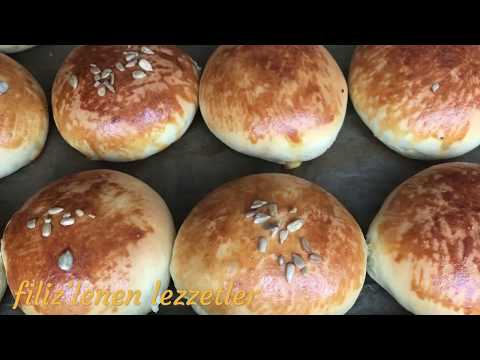 Peynirli kolay puf pogaca ( maden suyuyla)