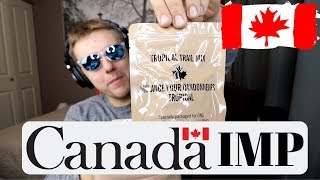 Canadian Military Ration Food IMP (Individual Meal Pack) MRE Testing & Review