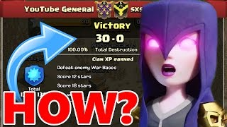 HOW TO WIN THE PERFECT WAR!?! | Clash Of Clans All Clan War Bases 3 Starred!