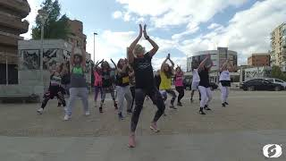 Stefflon Don - 16 Shots - Salsation® choreography by SMT Roxana R