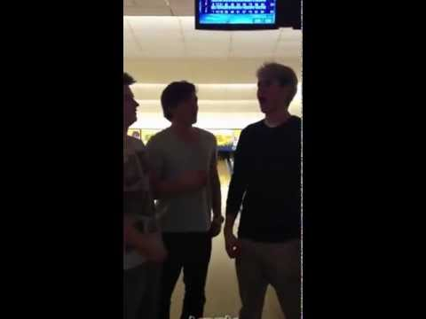 Niall Horan Josh Devine And Joey Cottle - some queen