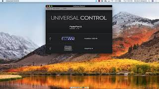 PreSonus–Updating FaderPort in Universal Control