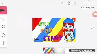 Juste un art Fan ... pour Cindy (undertalelover10127/Rblx-life369) //ROBLOX
