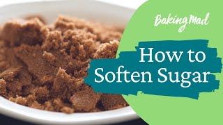 How to soften sugar | Baking Mad