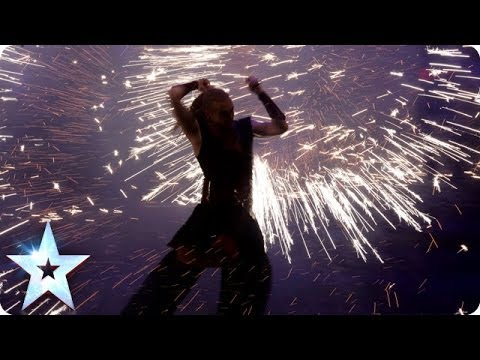 Pyroterra are on fire | Britain's Got Talent 2014