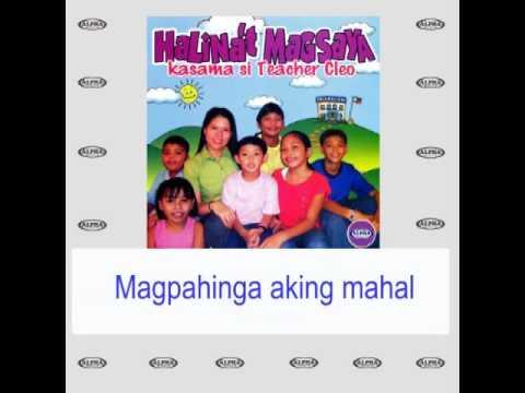 Magpahinga Aking Mahal By Teacher Cleo & Kids (With Lyrics)
