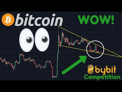 HUGE BITCOIN MOVE IMMINENT?!!!! | Bybit Competition? | BTC Bullish Divergence!!