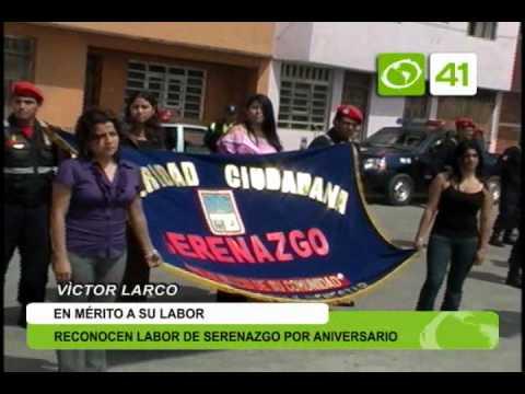 Reconocen labor a serenazgo de Víctor Larco por aniversario - Trujillo