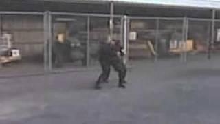 Sheriff K9 Training Muzel Hit