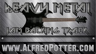 Heavy Metal Jam Backing Track