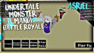 Roblox Undertale Monster Mania: Asriel (Battle Royale)