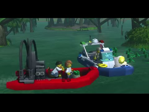 Swamp Police LEGO City My City game trailer YouTube