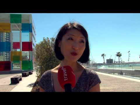 Inauguración del Centro Pompidou de Málaga. Travel TV