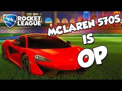 McLaren 570S Is OP | Rocket League Montage
