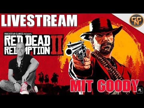 Red Dead Redemption 2 - Live Stream #2 mit Goody