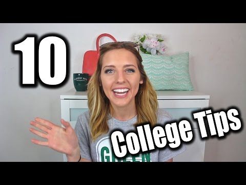 10 MUST KNOW College Tips | Slippery Rock University